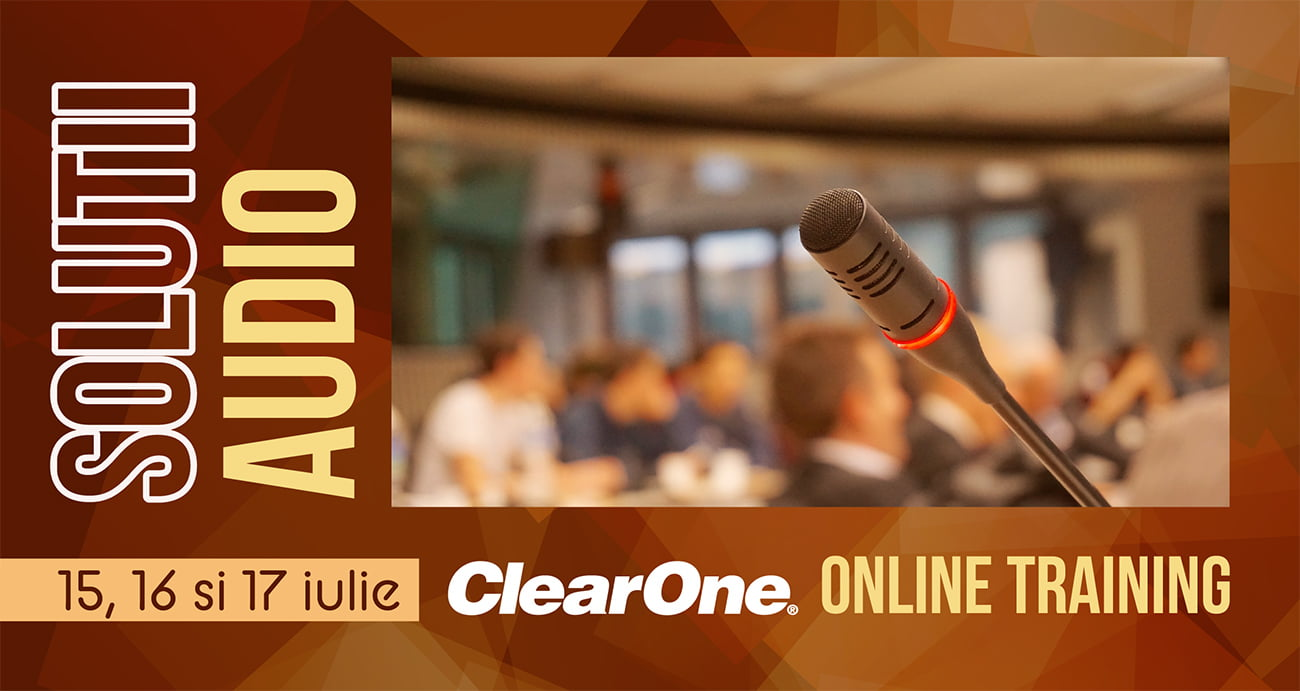 Clear One Online Training - Solutii audio